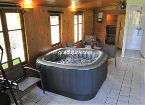 Nouveau Spa accompagné d'un Sauna