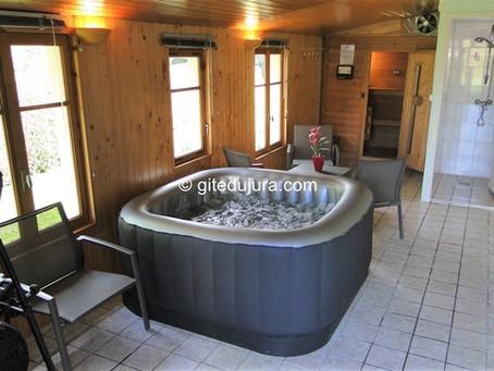 New Spa accompanied by a Sauna