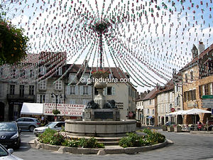 Arbois - City center - Rental of cottages for holidays in the High-Jura mountains