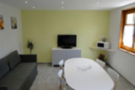 Gite 829 - Dining room, Living room