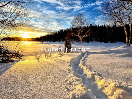 Winter in the High-Jura mountains