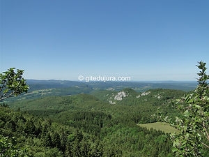 Foncine le haut - Lookout of Bulay - Rental of cottages for holidays in the High-Jura mountains
