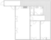 Gite 829 - Interior plan
