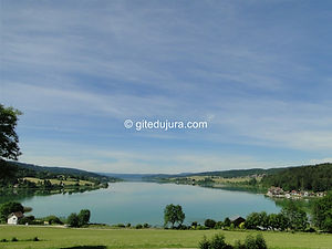 Saint Point Lake - Rental of cottages for holidays in the High-Jura mountains