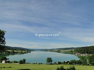 Lac Saint Point - Location de gîtes vacances en montagne Haut-Jura