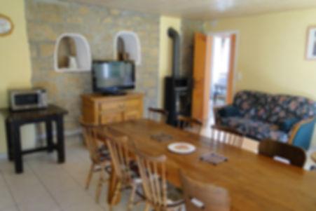 Gite 295 - Dining room, Living room