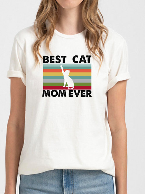 Best Cat Mom Ever Unisex Shirt