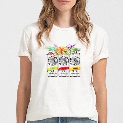 White Claw Floral Shirt