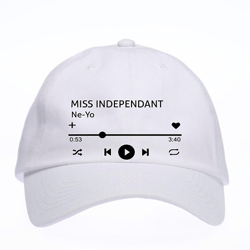 Custom Song Hat, Spotify Song