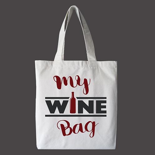 My Wine Tote Bag