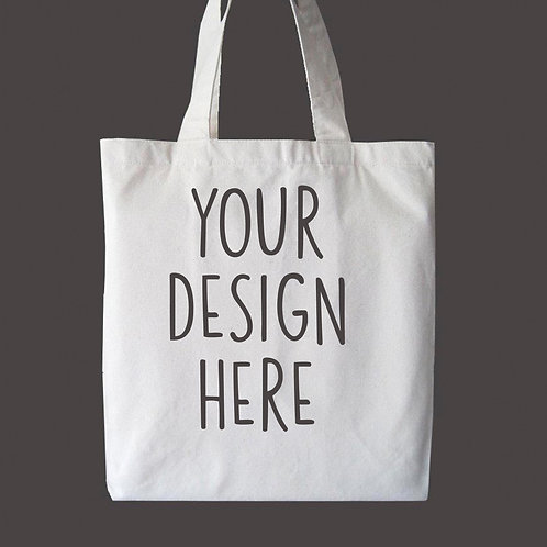 Custom Personalized Tote Bag, Your Design Bag