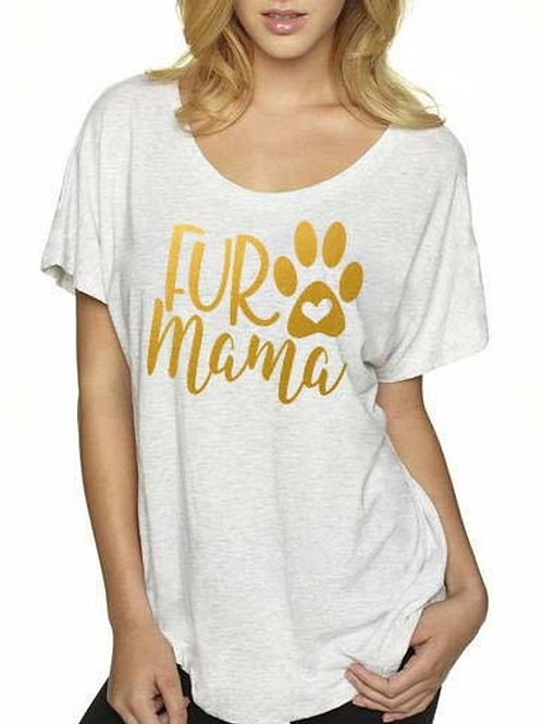 Fur Mama Dolman Shirt