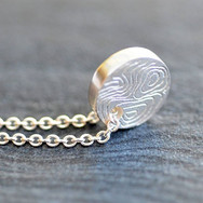 Sterling and Fine Silver Coin Necklace b