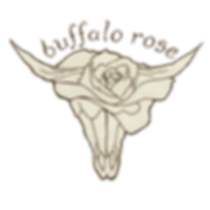 Buffalo Rose Band Music Logo transparent