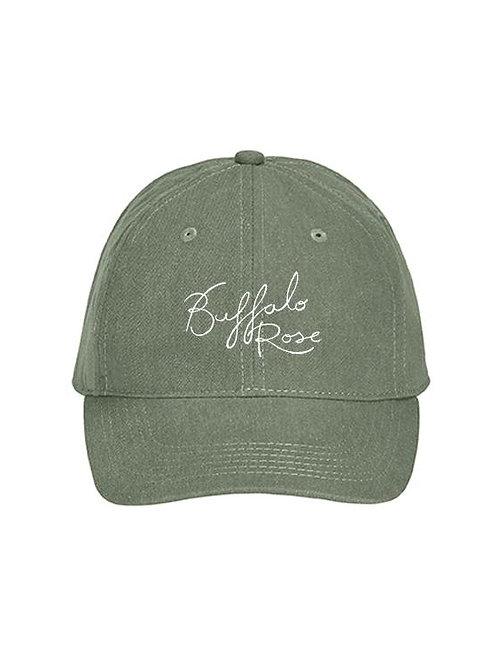Buffalo Rose Hat