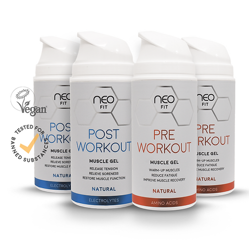 NEOFIT COMBO WORKOUT GELS x2, 100ml