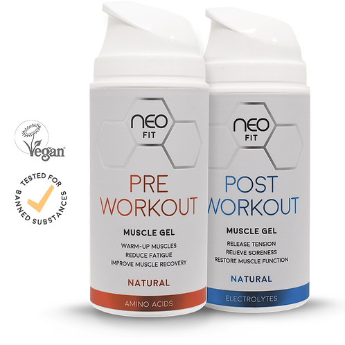 NEOFIT COMBO WORKOUT MUSCLE GELS, 100ml