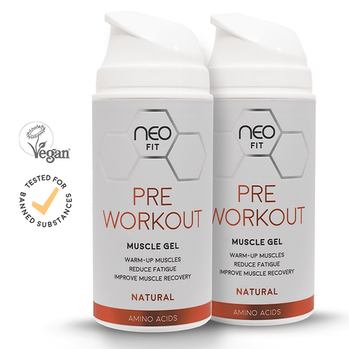 NEOFIT PRE WORKOUT GEL x2, 100ml