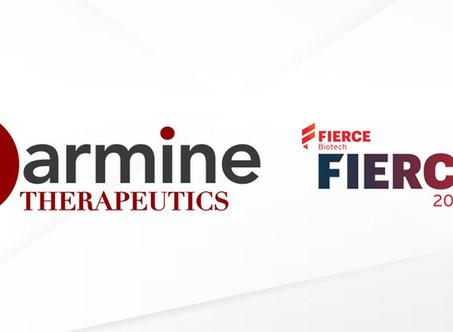 "Carmine Therapeutics named as one of FierceBiotech's ""Fierce 15"" Biotech Companies of 2020"