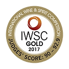 Blackwater No.5 Gin - IWSC Gold 2017 png
