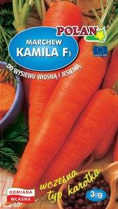 Marchew jadalna Kamila - mieszaniec 3g.