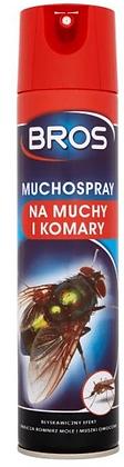 Bros MUCHOSPRAY na Muchy Komary Meszki 400ml