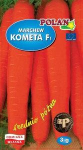 Marchew jadalna Kometa - mieszaniec 3g.