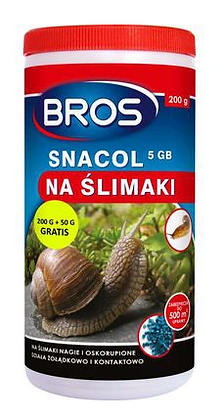 Bros snacol Środek na ślimaki 250g