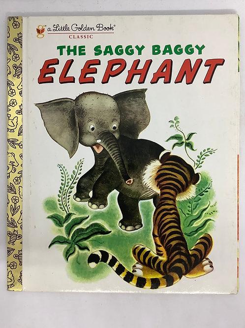 A Little Golden Book - The Saggy Baggy Elephant