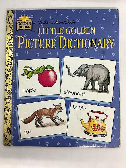 A Little Golden Book - Little Golden Picture Dictionary