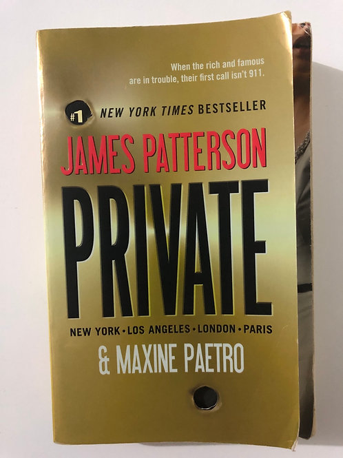 Private by James Patterson and Maxine Paetro