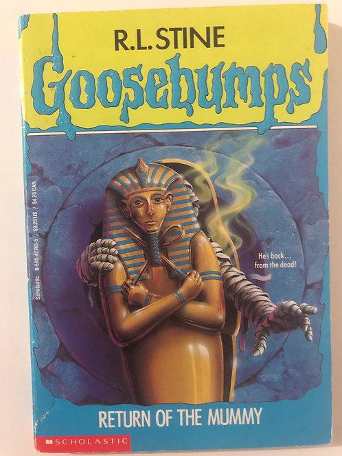 Return of the Mummy by R.L. Stine (Goosebumps 23)