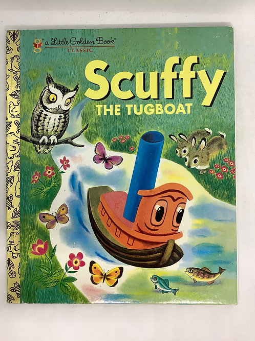 A Little Golden Book - Scuffy the Tugboat