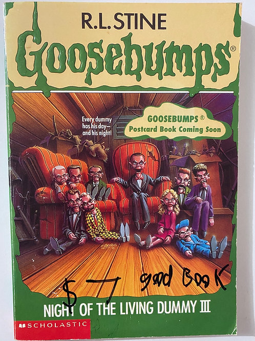 Night of the Living Dummy by R.L. Stine (Goosebumps 40)