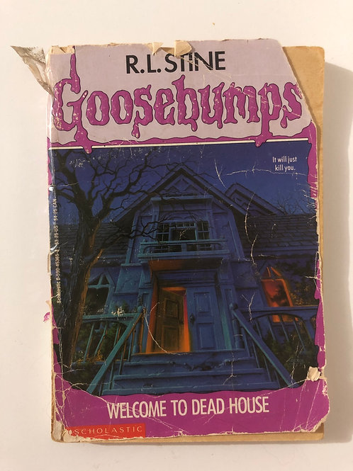 Welcome to Dead House by R.L. Stine (Goosebumps 1)