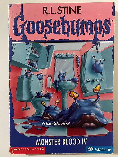 Monster Blood IV by R.L. Stine (Goosebumps 62)