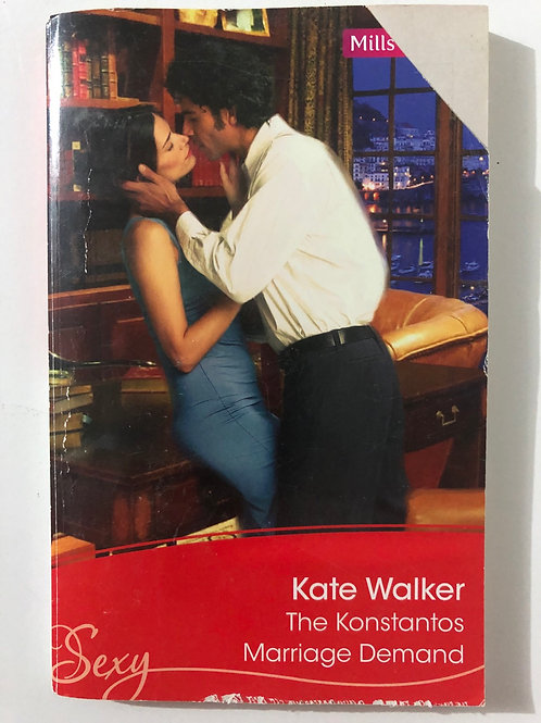 The Konstantos Marriage Demand by Kate Walker
