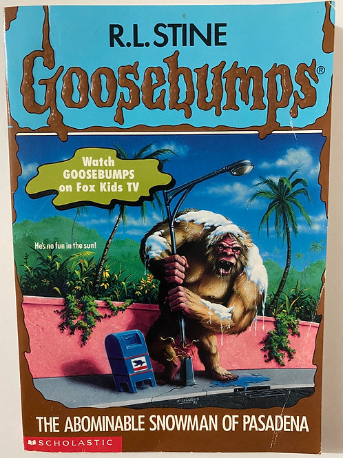 The Abominable Snowman of Pasadena by R.L. Stine (Goosebumps 38)