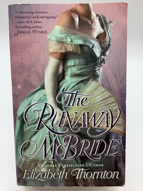 Th Runaway McBride by Elizabeth Thornton