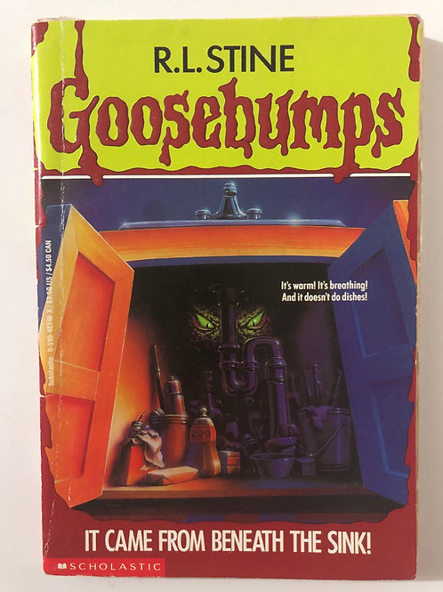 It Came From the Basement by R.L. Stine (Goosebumps 30)