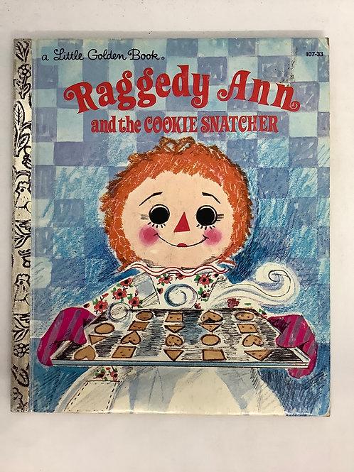 A Little Golden Book - Raggedy Ann and the Cookie Snatcher