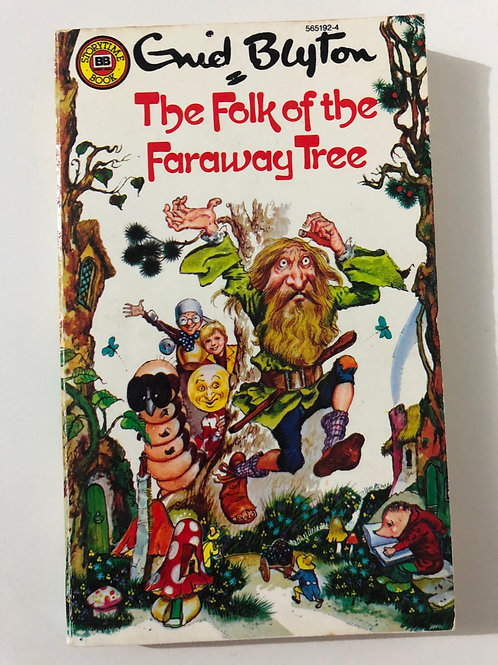 The Folk of the Faraway Tree by Enid Blyton (The Magic Faraway Tree series)