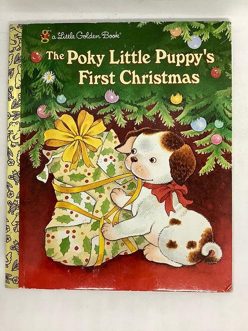 A Little Golden Book - The Poky Little Puppy's First Christmas