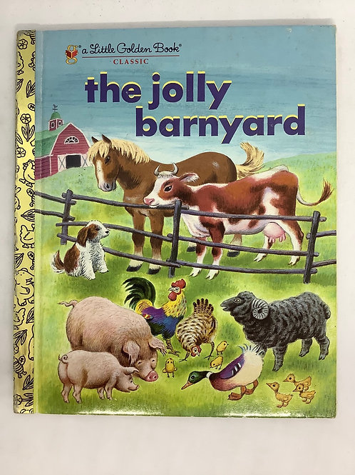 A Little Golden Book - The Jolly Barnyard