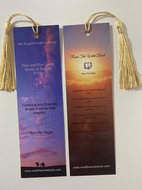 Happiness Sunset Bookmark