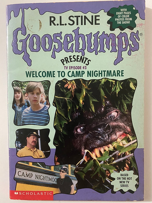 Welcome to Camp Nightmare by R.L. Stine (Goosebumps TV Episode 3)