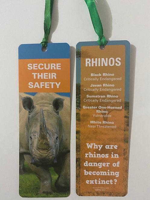 Rhinos Bookmark / Page Saver