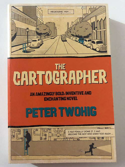 The Cartographer by Peter Twohig