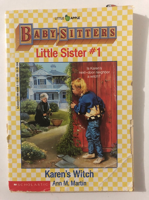 Karen's Witch by Ann M. Martin (Baby-Sitters Little Sister #1)