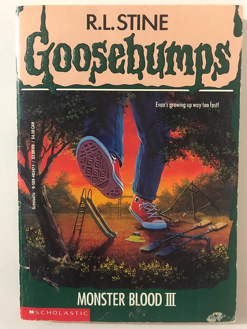 Monster Blood III by R.L. Stine (Goosebumps 29)